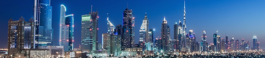 Conrad Dubai Skyline