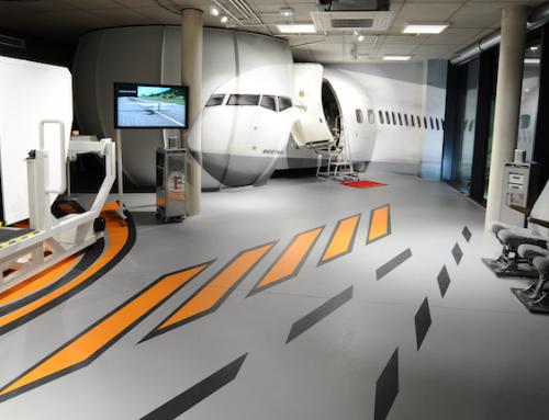 Kommunikationstraining für Führungskräfte im Flugsimulator mit Peter Brandl